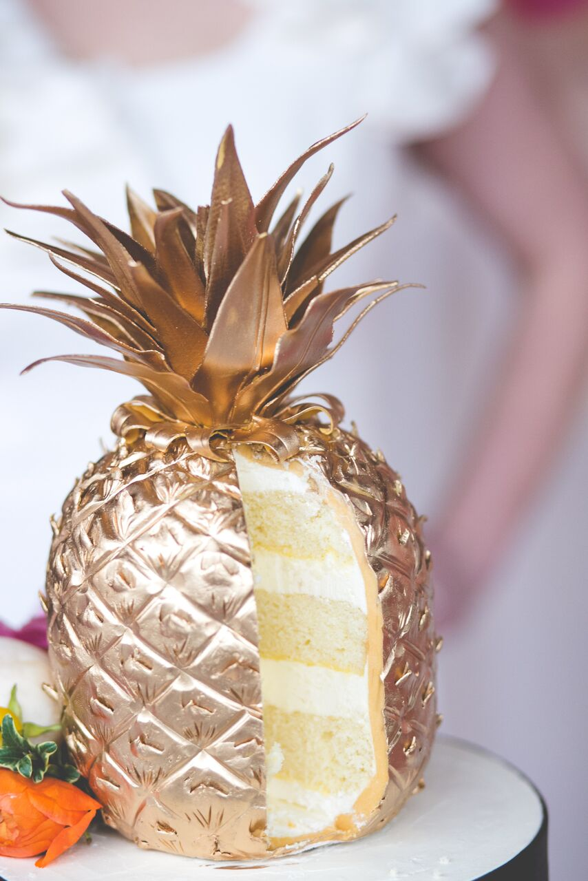 Pineapple cake by Adorn Cakes 2