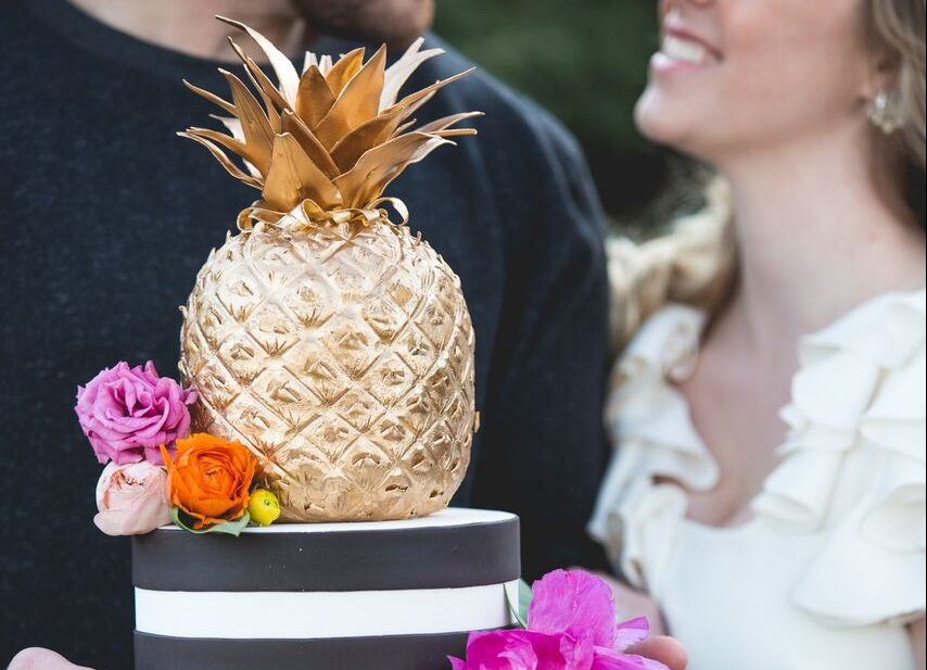 Pineapple Cake Adorn Cakes - Pineapple Wedding Cake